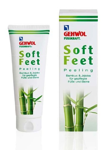 Gehwol Soft Feet Peeling 125ml, Fußpflege -